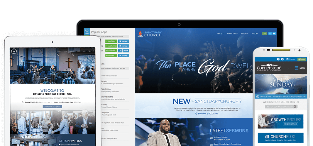 Church Website Design Samples